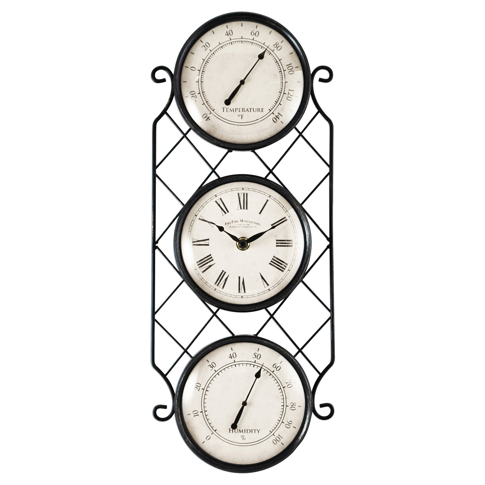 FirsTime Bronze Allegri Outdoor Clock