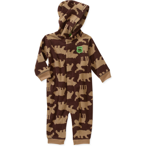 Child of Mine by Carters Newborn Boys' Hooded Bear Romper