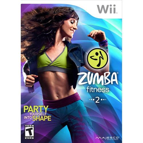 Zumba Fitness 2 with Fitness Belt - Nintendo Wii