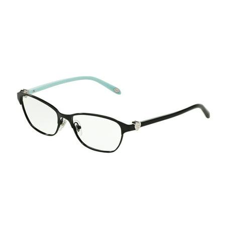 Tiffany Optical 0TF1072 Full Rim Cat Eye Womens Eyeglasses - Size 51 (Black / Demo (Large Cat Eye Optical Frames)