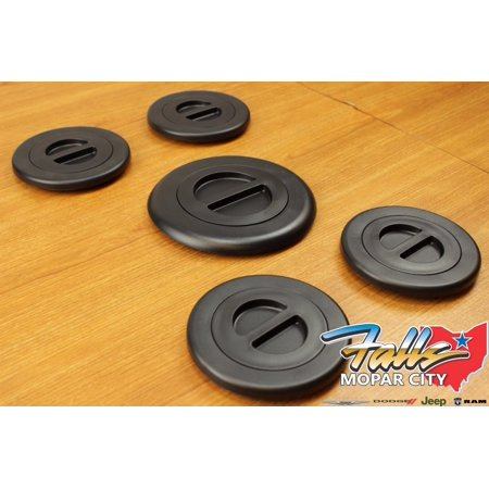 2016-2019 Ram 1500 2500 3500 5th Wheel/Gooseneck Bed Plug Cover Kit Mopar OEM