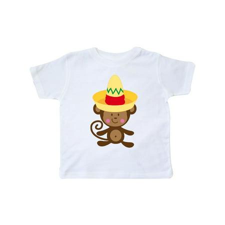 - Cinco De Mayo Monkey Toddler T-Shirt