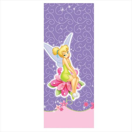 Tinker Bell 'Tink' Plastic Table Cover (1ct) (Tinkerbell Table Decorations)