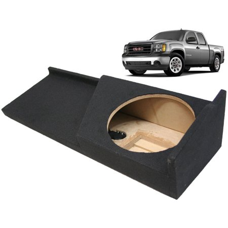 "2007-2013 Gmc Sierra 1500 Ext Cab Truck Custom Fit Single 12"" Sub Subwoofer Box"