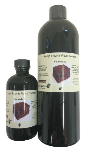Fudge Brownie Flavor Fountain by