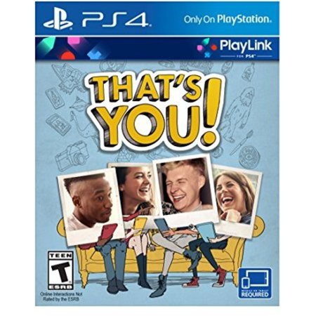 That's You [Playlink], Sony, PlayStation 4, 711719511212