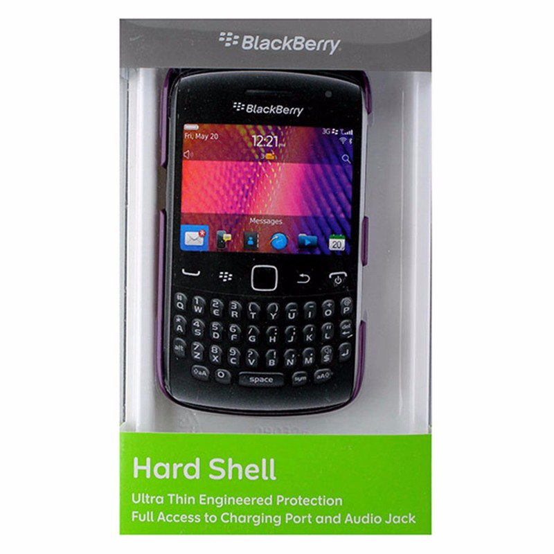 BlackBerry Hard Shell Case for Curve 9370/9360/9350 - Puple