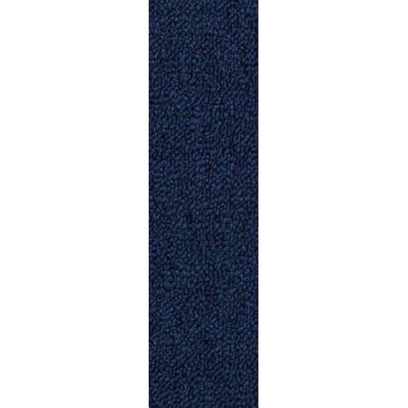 Maple Home Acromatic Collection | Indoor Outdoor Commercial Runner Rugs Petrol Blue Color 3' x 18' - Area Rug - image 1 of 4