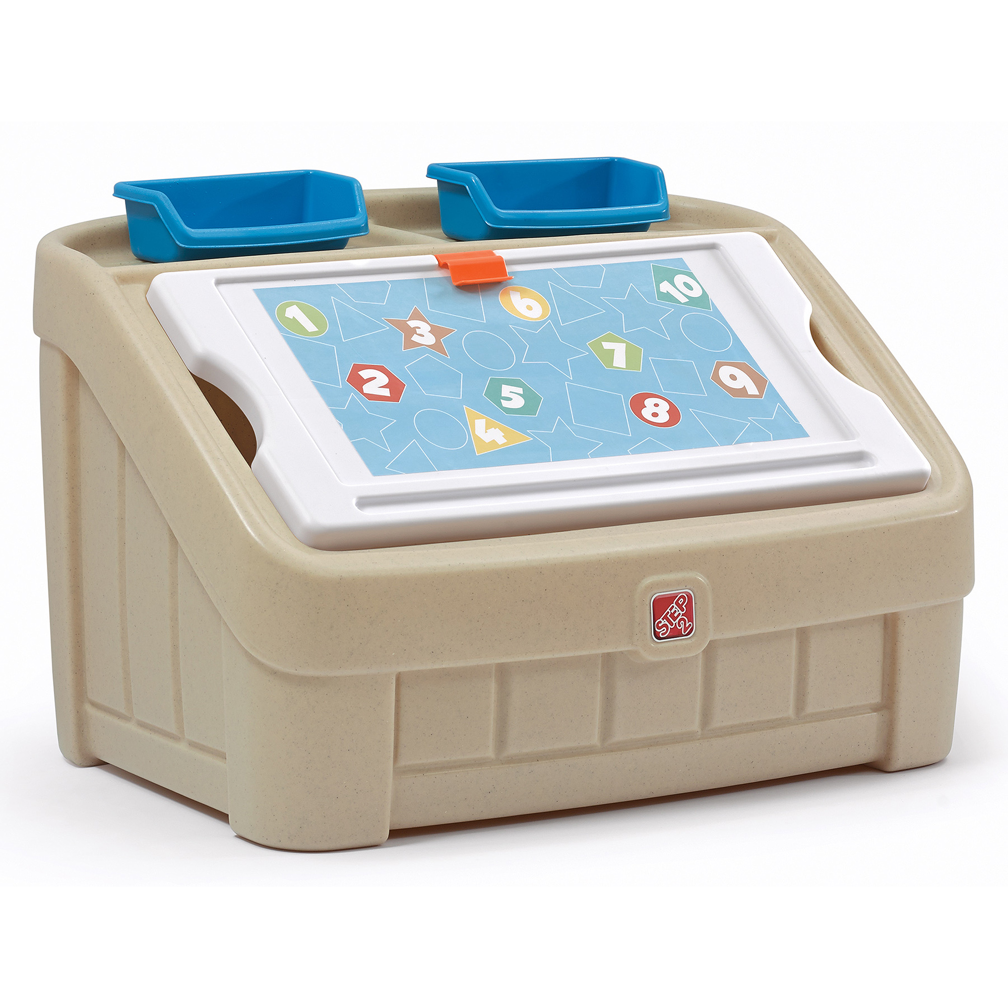 Step2 2-in-1 Art Toy Box
