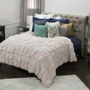 3-Pc Comforter Set in Lt Pink (Full/ Queen)