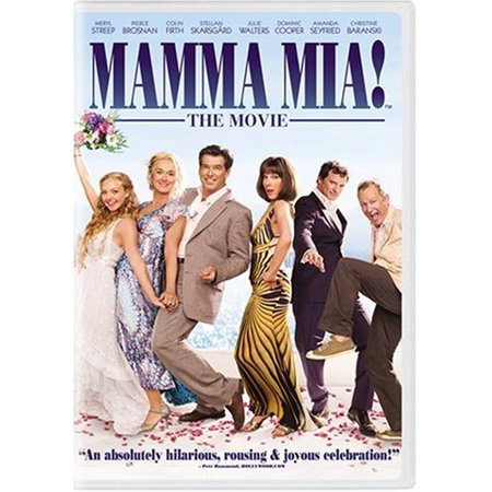 Mamma Mia! The Movie (DVD) (Difference Between Mia 1 And Mia 2)