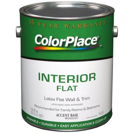 Color Place Interior Flat Accent Paint