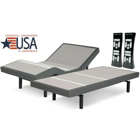 S-CAPE 2.0 PERFORMANCE MODEL ADJUSTABLE BED BY LEGGETT & PLATT - Leggett Platt Bed Rails