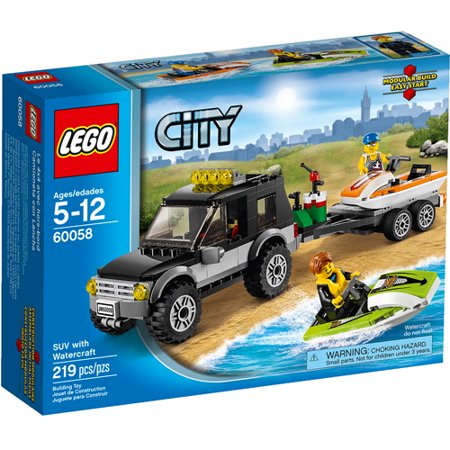 Lego City Great Vehicles Suv With Watercraft Building Set