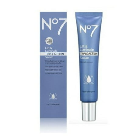 No7 Lift & Luminate TRIPLE ACTION Serum - 1.0 oz