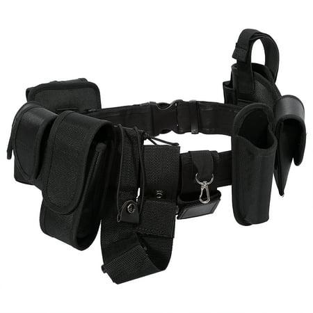 Yosoo Police Security Guard Modular Enforcement Equipment Duty Belt Tactical Nylon US,Duty Belt, Tactical Nylon US ()