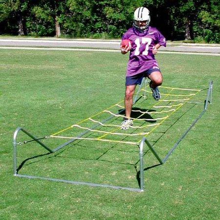 Football Blocking Sleds (Athletic Connection High Step Agility Football Speed Trainer )