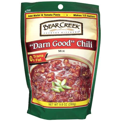 bear creek country kitchens  quot darn good quot  chili mix  9 8 oz