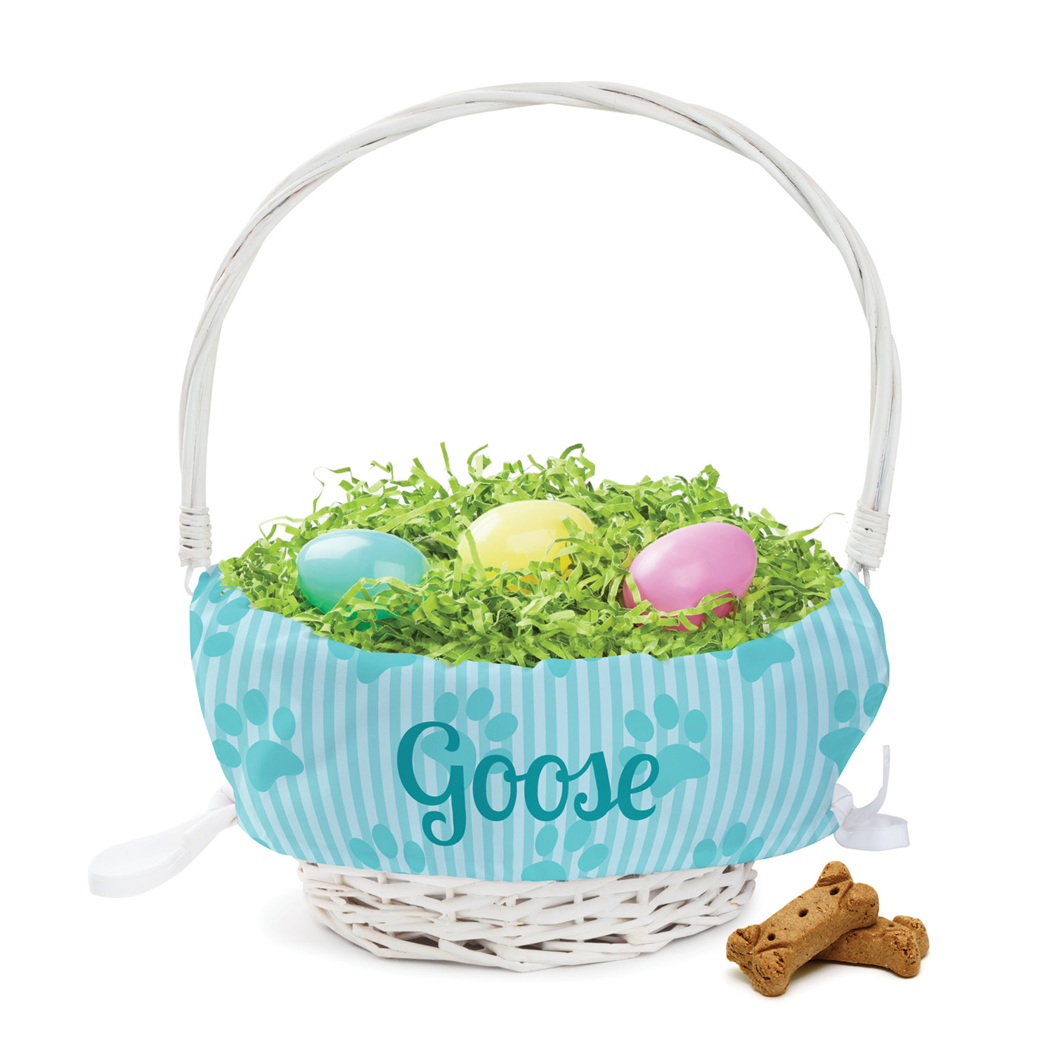 Personalized Boy Dog Easter Basket