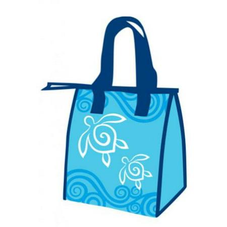 Small Reusable Bags (Hawaiian Honu Turtle Swirl Small Insulated Reusable Lunch)