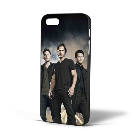 Ganma Sam Winchester Dean Winchester and Chastel Supernatural Case For iPhone Case (Case For iPhone 6s White) ()