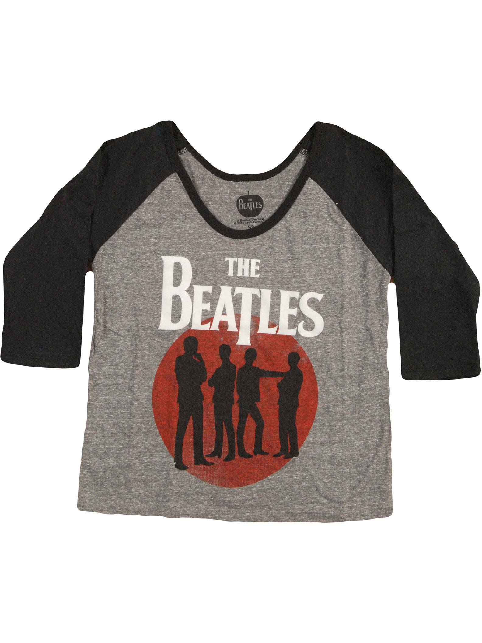 Beatles Silhouettes White Tank Top New Official Juniors