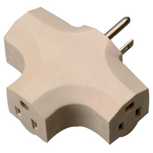 Ho Wah Gentin Kintron Sdnbhd 09902-97ME 3-Outlet Indoor Power Adapter