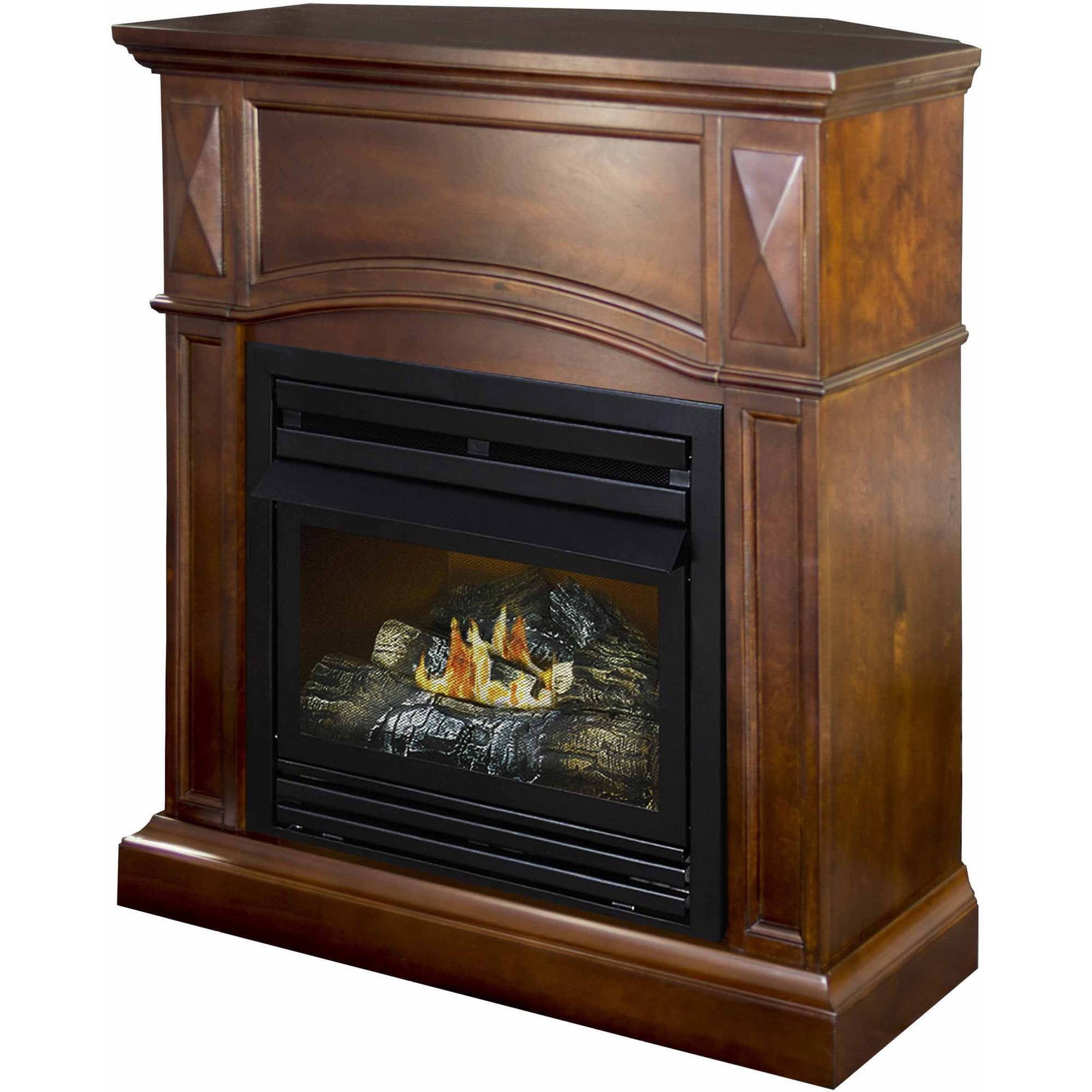 natural illusion fireplace log esperance standing ventless heaters gas fires free