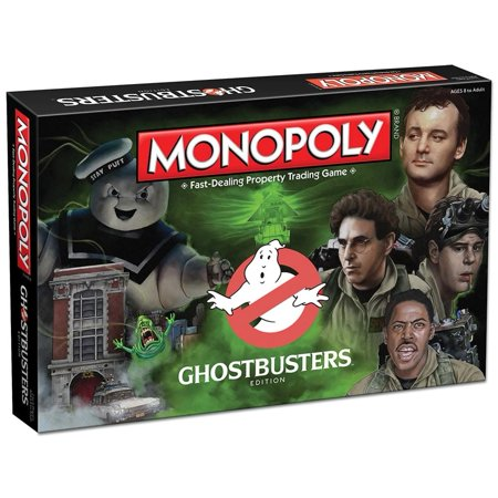 Anniversary Collectors Edition Monopoly - Ghostbusters Collector's Edition Monopoly Board Game
