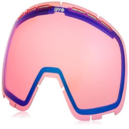 Spy Optic Platoon Snow Goggles, Pink Contact (Spy Goggle Lenses)