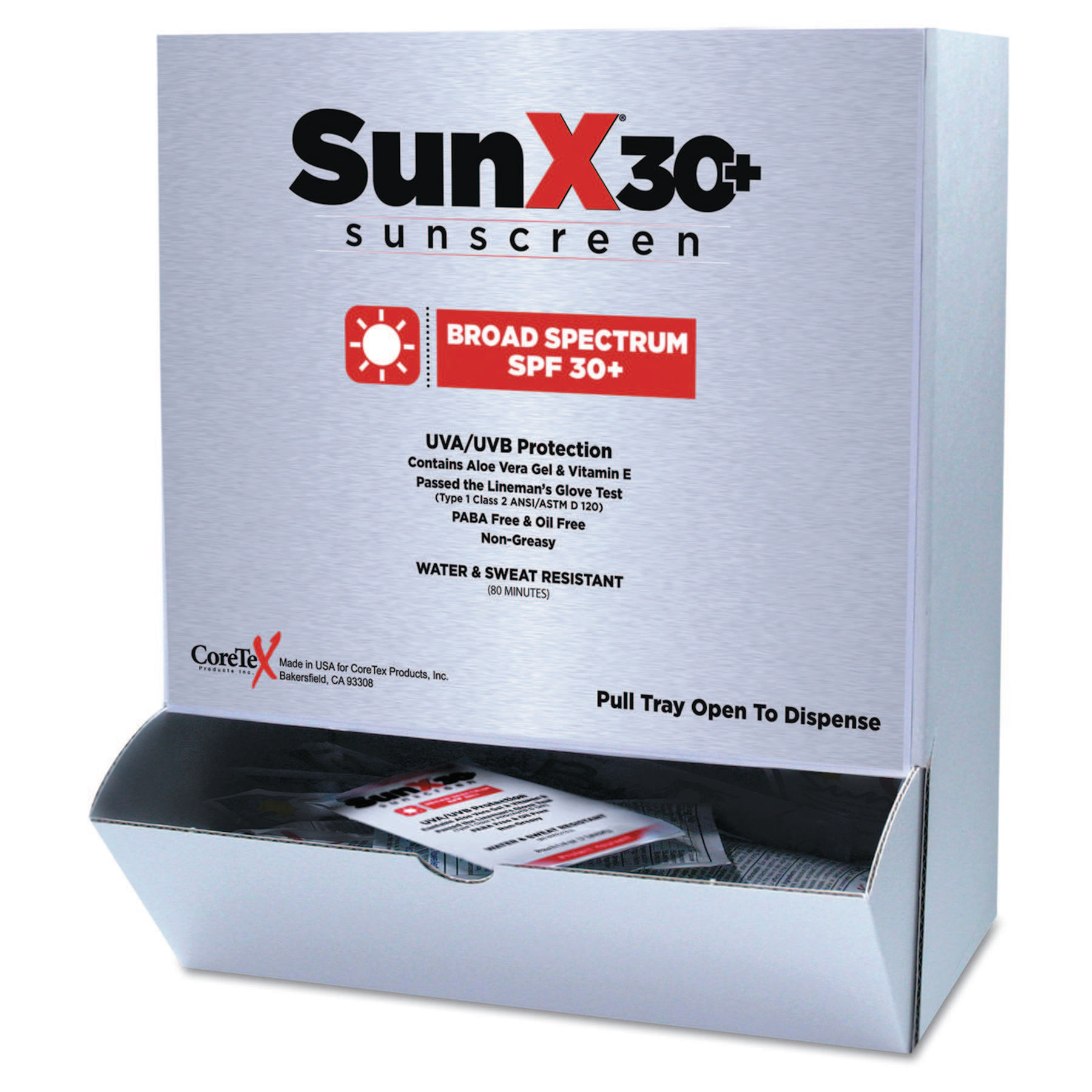 Pac-Kit SunX30 Sunscreen Lotion Packets