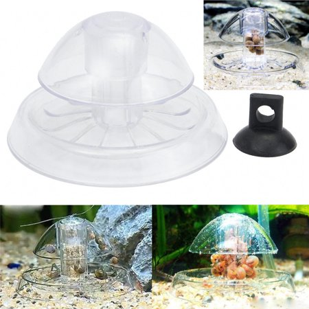 Snail Trap - Plastic Fish Tank Catcher Clear Snail Trap & Free Bait  to Catch the Snail for Aquarium Fish Plants Tank Planarian Leech Catch (Aquarium Snail Chemical)