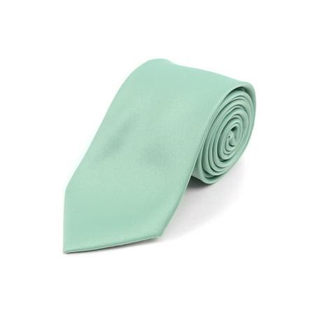 Boy's Age 12-18 Solid Color Poly Neck - School Color Neckties