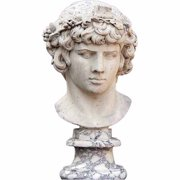Olympus Stone Bust Statue Cardboard Stand-Up