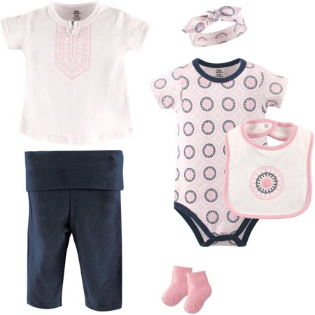 Layette Girl (Baby Girl Layette Set, 6-Piece)
