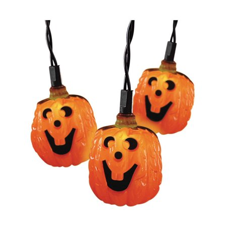 Celebrations Halloween Pumpkin Lights 10 Lights