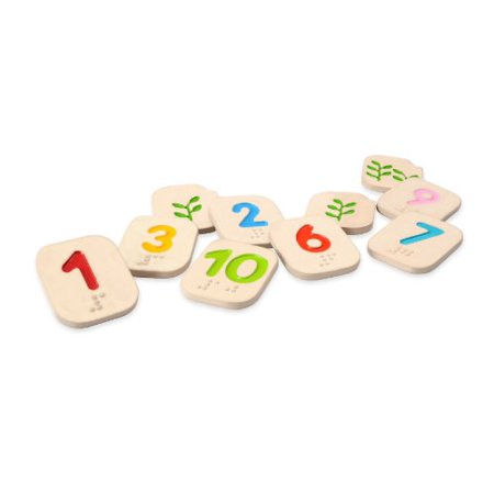 Plan Toys Braille Numbers 1 - 10 (Tods Brillen)