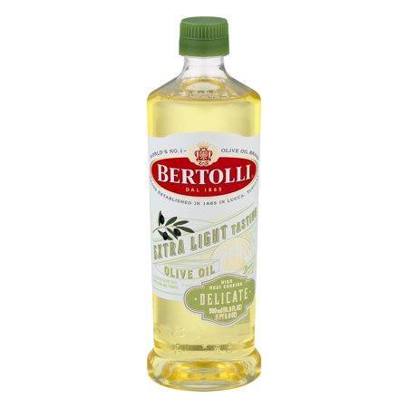 Bertolli Extra Light Tasting Olive Oil, 17 fl (Light Olive Matt)