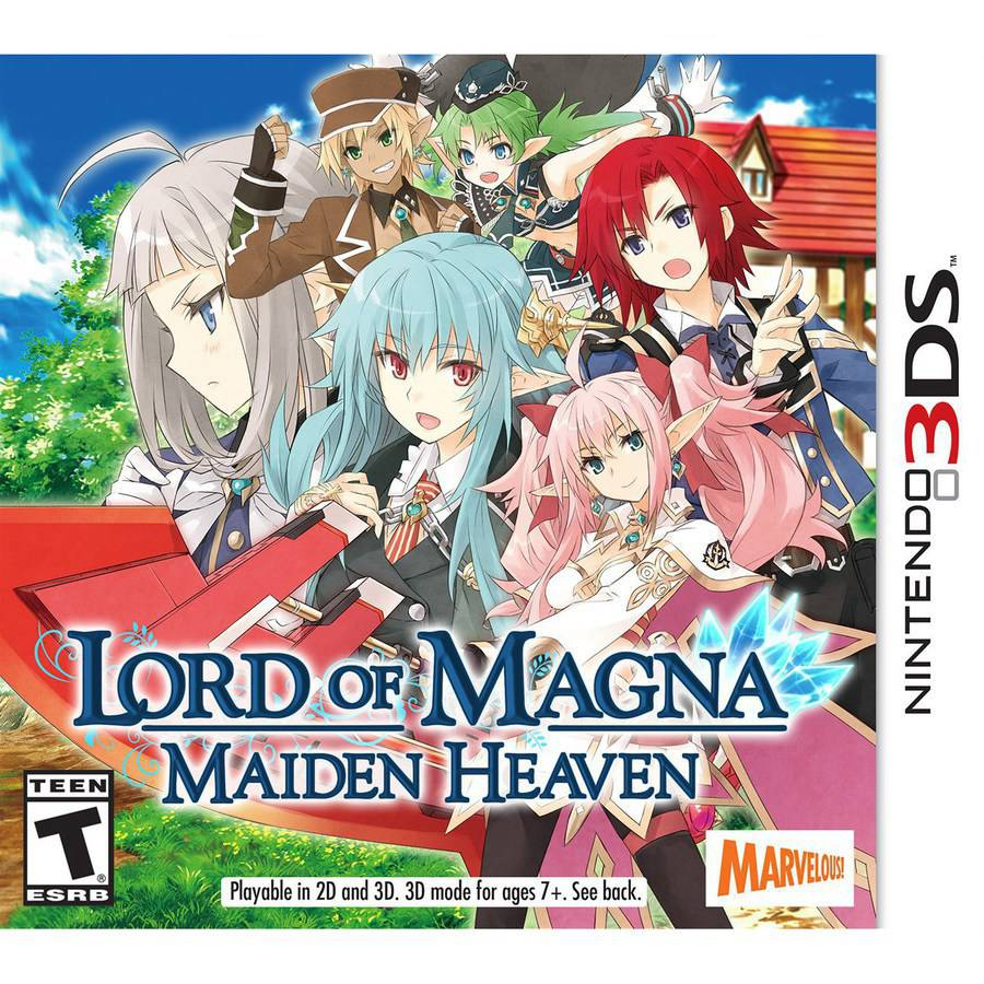 LORD OF MAGNA:MAIDEN HEAVEN 3DS ACTION