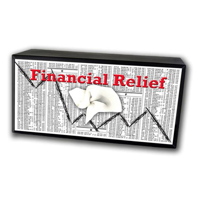 Caravelle TC-1013 Financial Relief Tissue Box C over