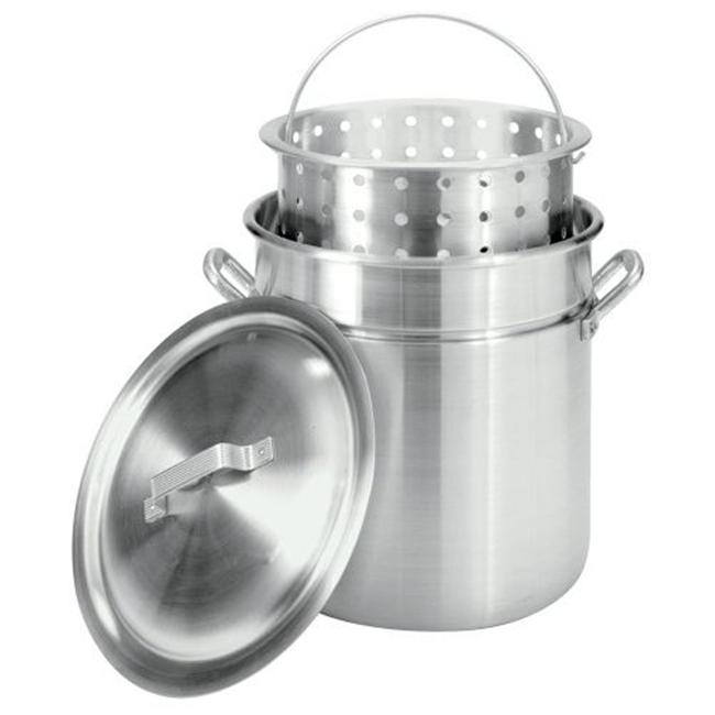 Bayou Classic 4042 42-Qt.  Fryer- Steamer with Lid and Basket - Aluminum