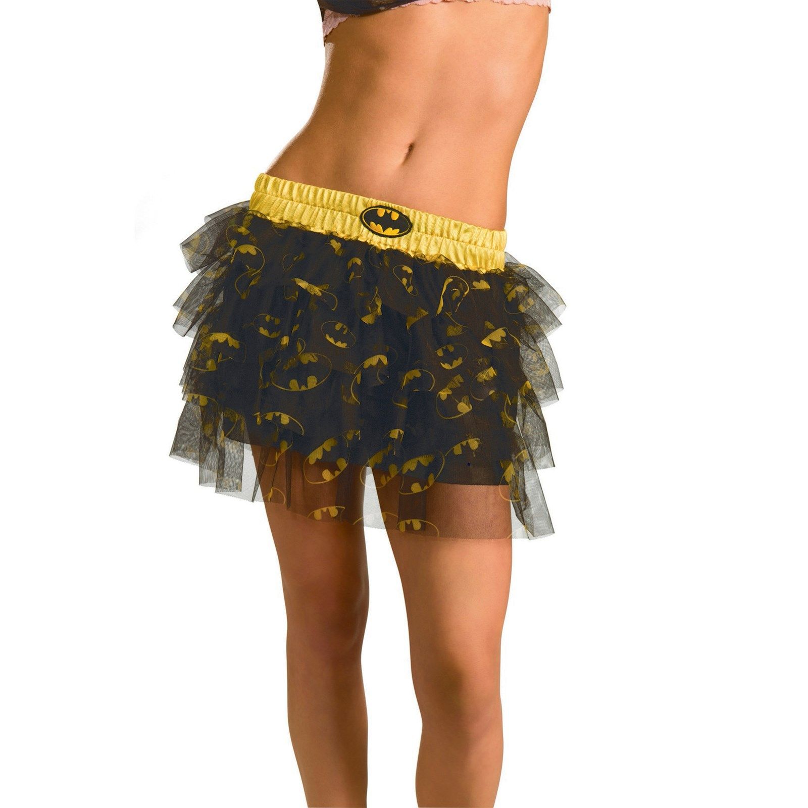 Adult Womens Justice League Size 12 Batgirl Sequin Skirt