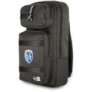 Sporting Kansas City New Era Slim Tech Backpack - Heathered Black