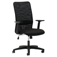 OIF Mesh High-Back Chair, Height Adjustable T-Bar Arms