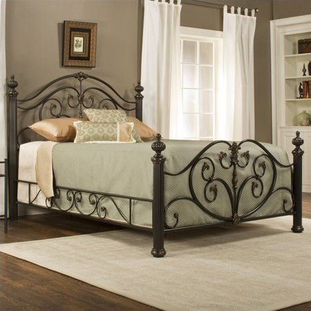 - Hillsdale Grand Isle Bed in Brushed Bronze-Queen