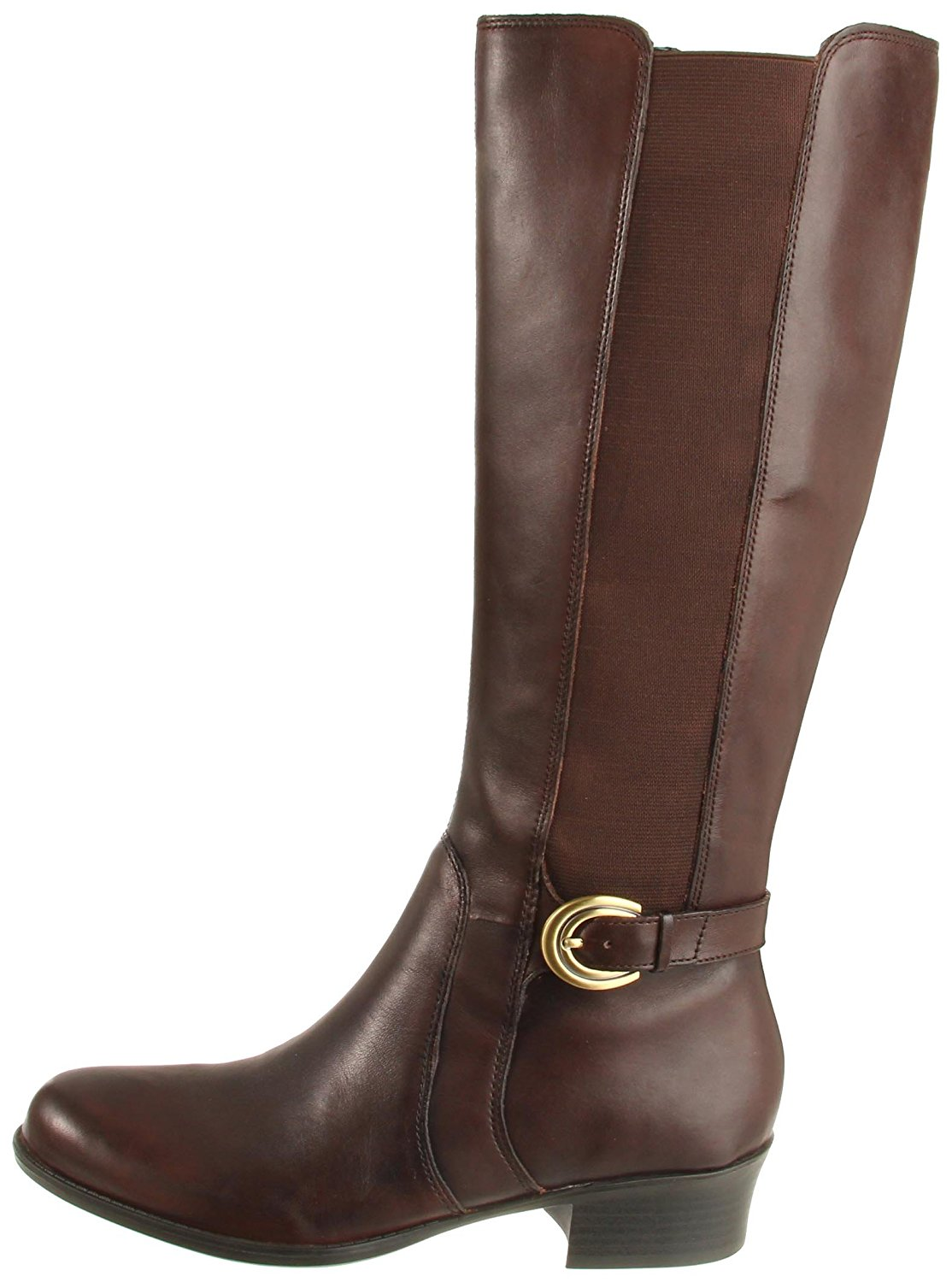 Naturalizer Womens Arness Leather Almond Toe Knee High Riding Boots by Naturalizer