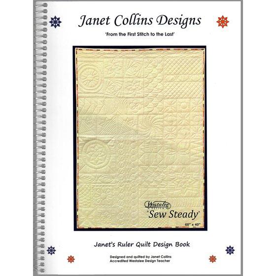 Janets Ruler Quilt Design Book Walmartcom