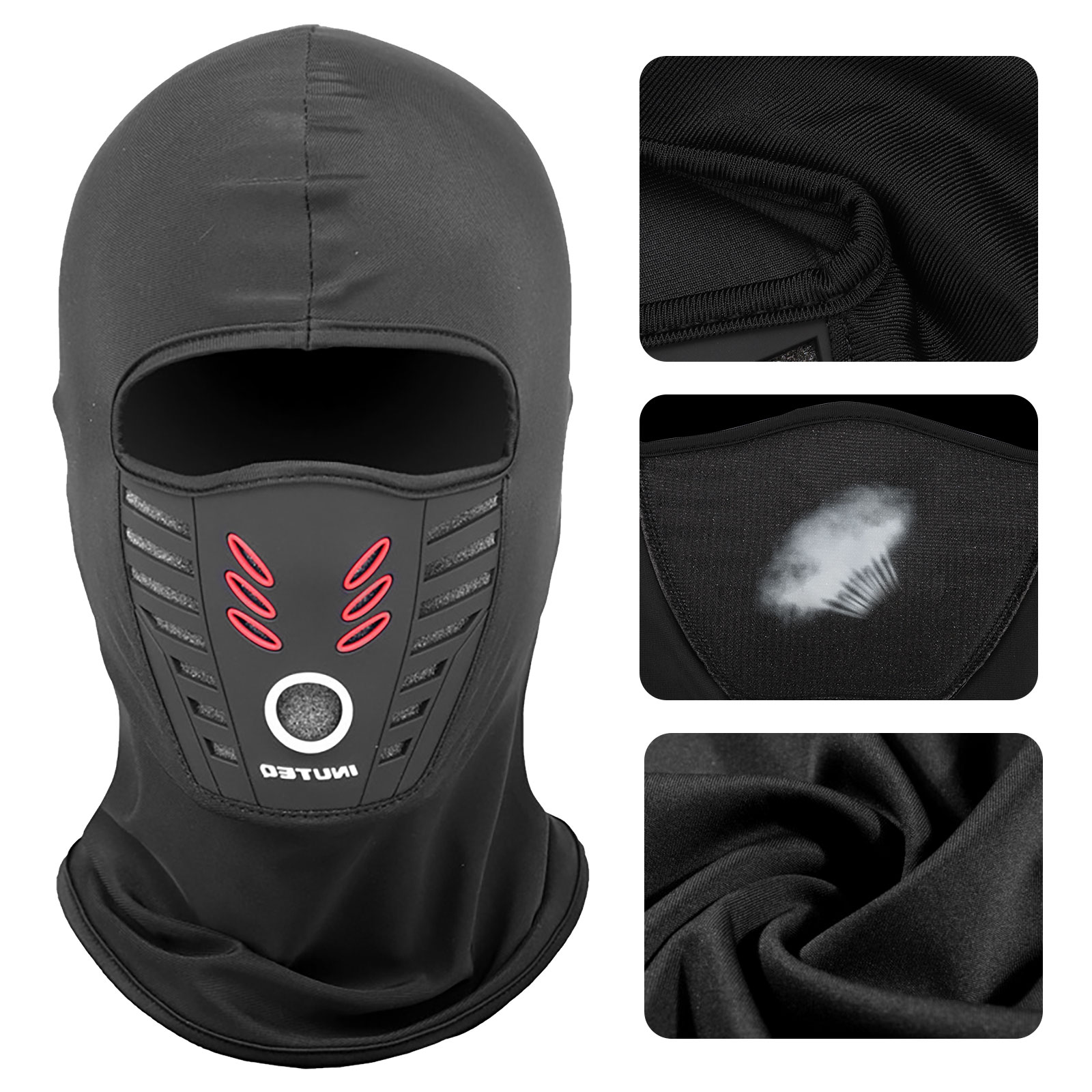 Men Women Winter Mouth Mask Ear Muff Neck Scarf Protective 3 In 1 Warm Supply T