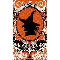 Paper Guest Towel, 15 count, Spooky Witch Silhouette