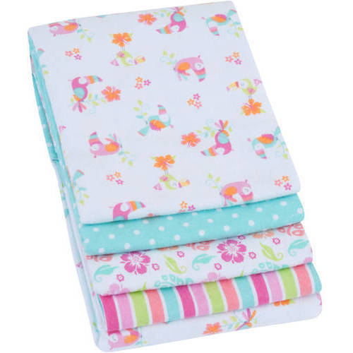 Garanimals 4-Pack Receiving Blankets, Pink